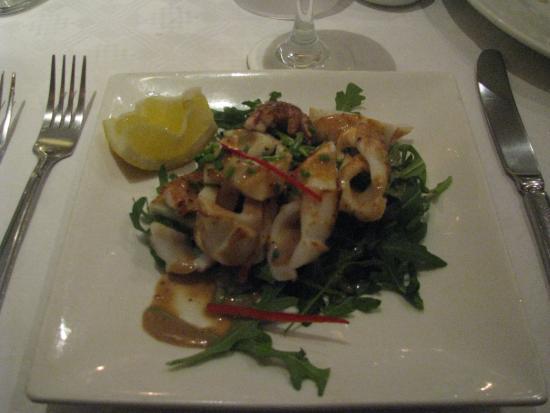 Zoom Restaurant: squid