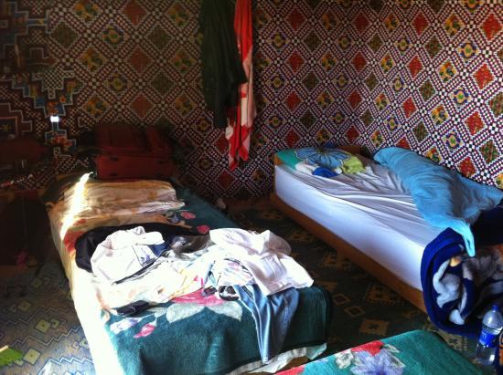 Auberge des Nomades du Sahara : La chambre