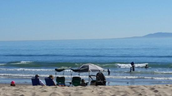 foggy when looking down along the surf picture of carpinteria rh tripadvisor com