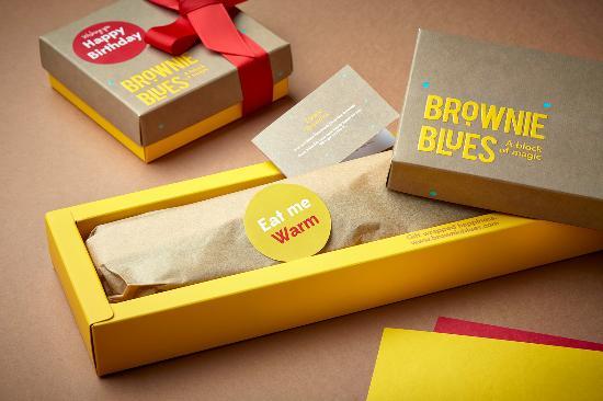 Brownie Box Picture Of Brownie Blues Dubai Tripadvisor