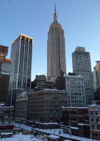 view of the empire state building from room 604 picture of the rh tripadvisor co uk