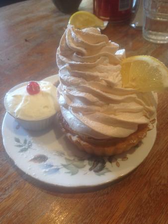 Queen of Tarts: Lemon Meringue Tart with a little pot of cream