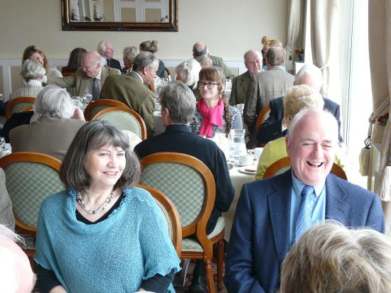 Best Western New Holmwood Hotel: Not a glum face in sight! CPRE-IW Members enjoying their Luncheon.