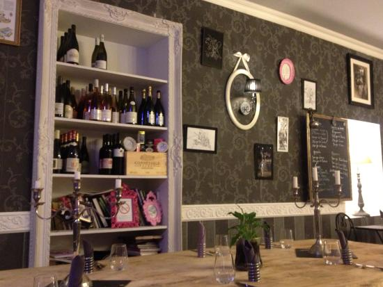 O Papilles - Le Restaurant: Интерьер ресторана.