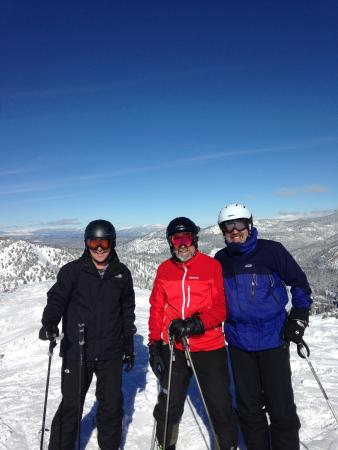 Squaw Valley Lodge : Top of the mountain.