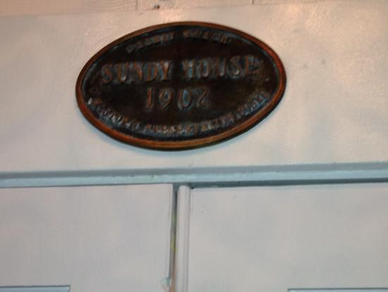 Sundy House Photo