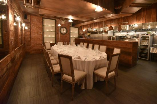Valbella Meatng Italian Restaurant Nyc Private Rooms Chef Room