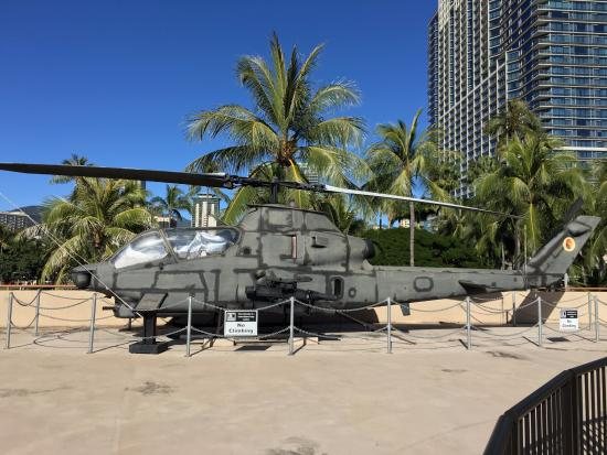 ah 1 cobra atop the us army museum of hawaii picture of us army rh tripadvisor co uk