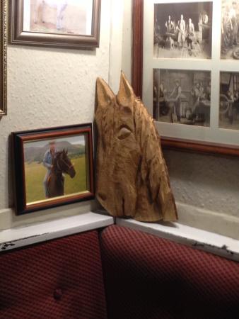 Erwood, UK: Horse memorabillia