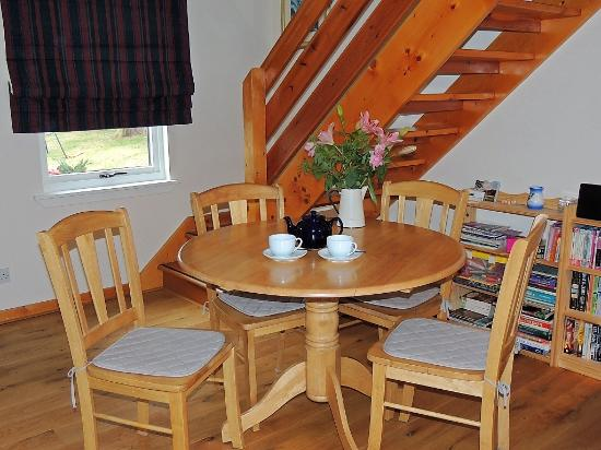 Steading 5 Balvatin Cottages: Welcome drink provided