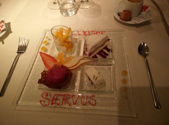 Restaurant Quellenhof: Dessertsymphonie à la Quellenhof