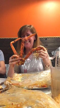 how to cook crab legs in a bag