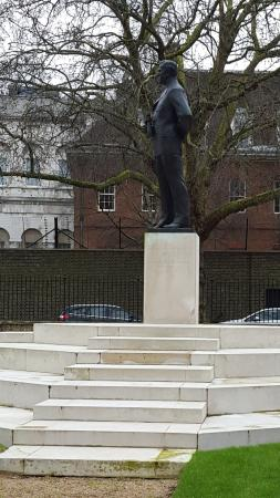 Adm Of Fleet Earl Mountbatten Of Burma Statue