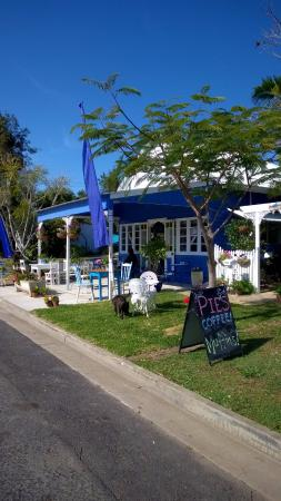 Amamoor, Australien: The Blue and White Teapot