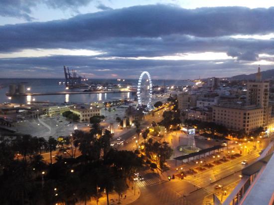 Vista Desde La Terraza Picture Of Ac Hotel Malaga Palacio