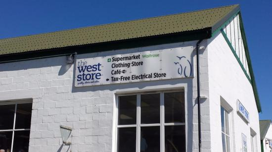 TheWestStore Coffee Shop: Tells it all