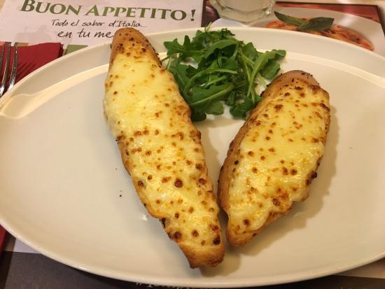 Il Tempietto Ristorante : Pan con scamorza