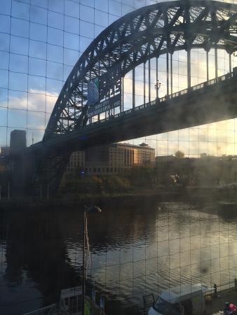 Premier Inn Newcastle Quayside hotel: Few from room