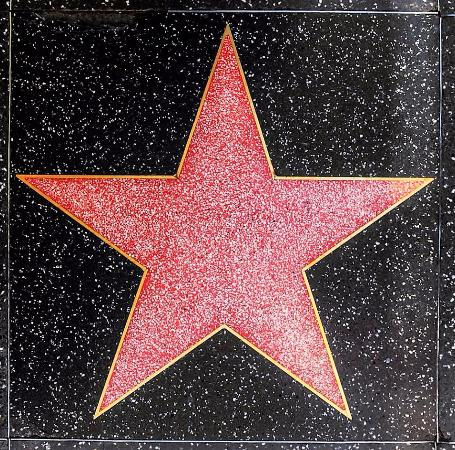 blank star picture of hollywood walk of fame los