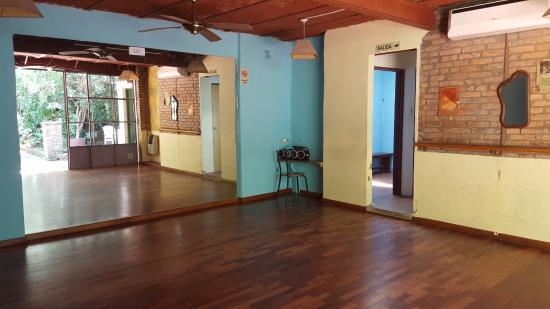 Caseron Porteno B&B: salón de clases de tango