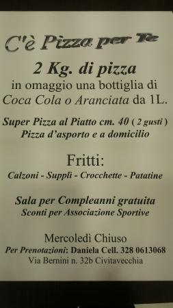 Ce Pizza Per Te!