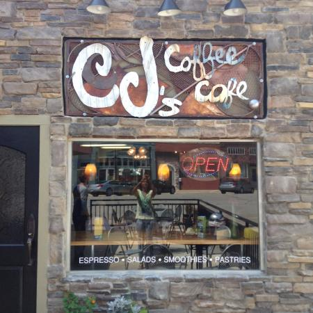 CJ's Coffee Cafe: Front of the building