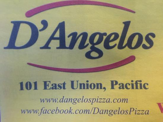 Pacific, MO: D'angelos Pizza