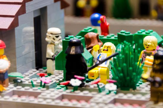 Star Wars - Picture of The LEGO Store, New York City - TripAdvisor