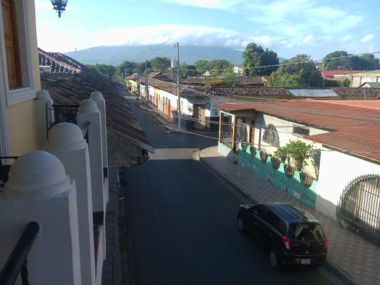 Hotel Terrasol: Vista desde el Balcón
