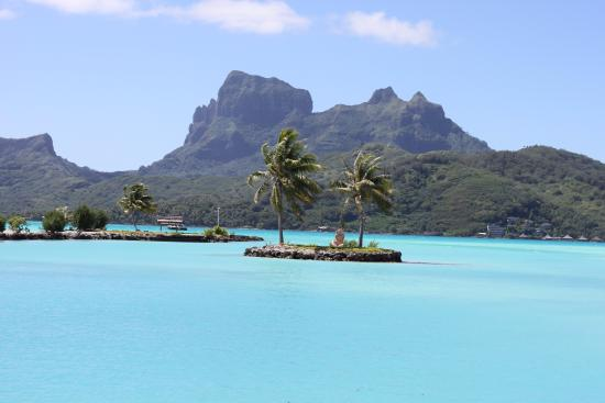 Hilton Bora Bora Nui Resort & Spa: View from Airport