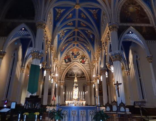 Notre dame cathedral south bend
