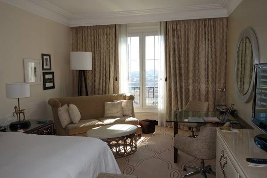 bedroom with bathroom in background picture of four seasons hotel rh tripadvisor ie