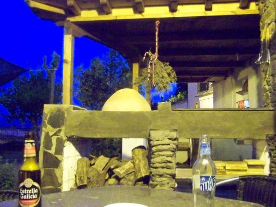 El Jardin del Mirador: barbacoa