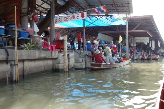 Floating market - Picture of Taling Chan Floating Market, Bangkok ...