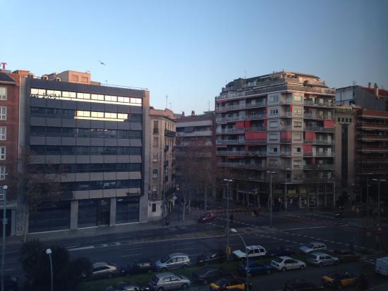 H10 Itaca Hotel: Vista da janela de meu quarto