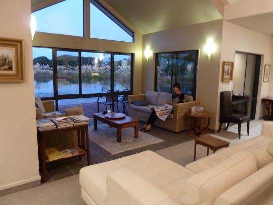 Twizel, Nueva Zelanda: Guest lounge
