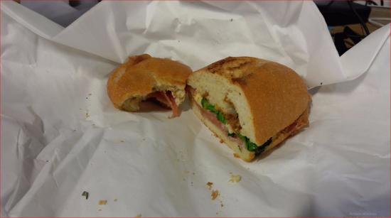 Point Richmond, Kaliforniya: This was my $11 sandwich