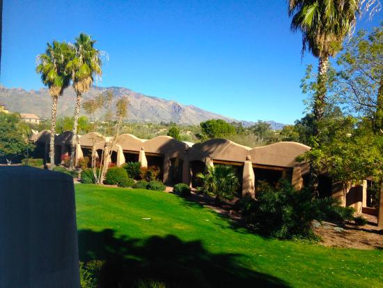 La Posada Lodge and Casitas: View from room
