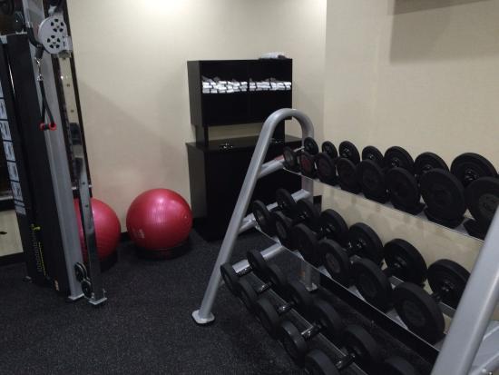 Exercise Room Photo 4 Hampton Inn Jacksonville South I