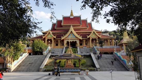 Jinghong, Kina: Temple visit