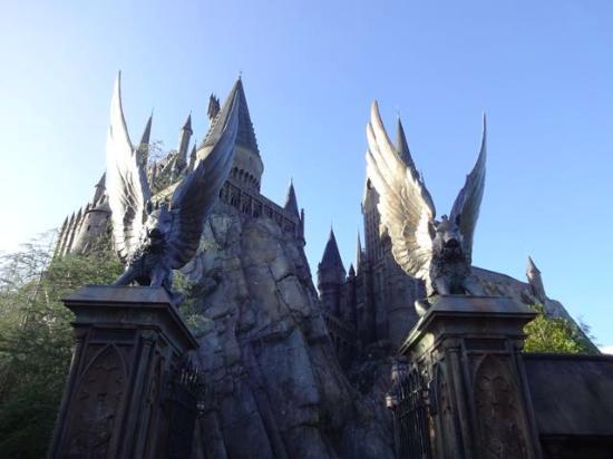 Entrada para Hogwarts Hogwarts-entrance