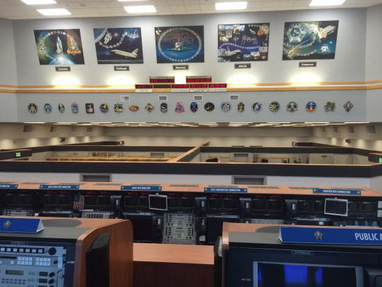 Shuttle missions launch control room - Picture of Kennedy ...