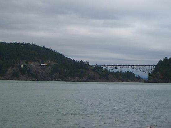 Oak Harbor, WA: This was taken from North Beach... some wind and rain.