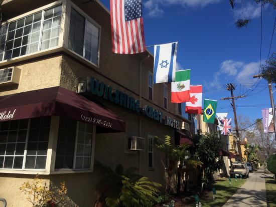 洛杉磯威爾希爾克雷斯特飯店照片