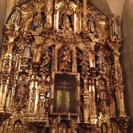 The Gold Leaf Altar In The Wedding Chapel Picture Of The
