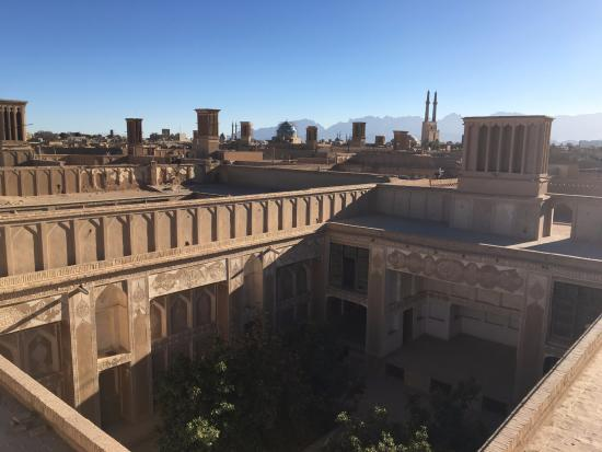 Yazd Art House: View from the rooftop