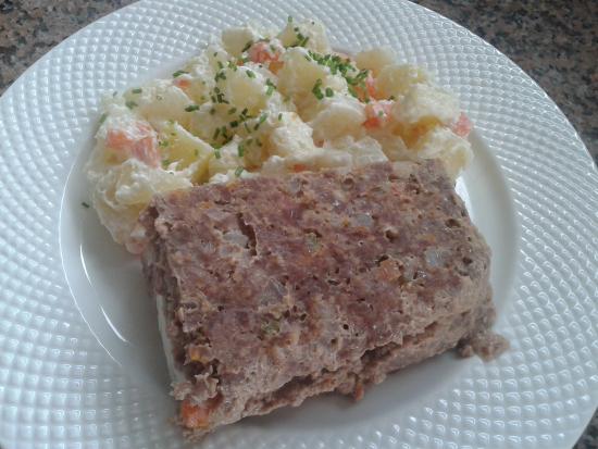 Patagonia food: Asado aleman