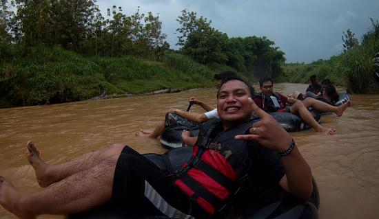 Goa Pindul Gelaran: Waktu rafting