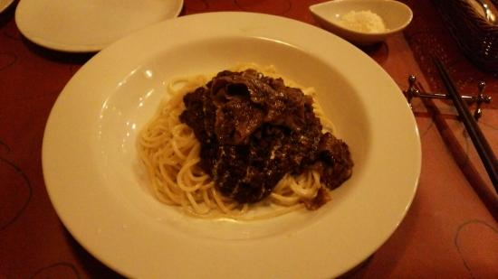 Pasta Cuore: 三河和牛の究極のミートソース