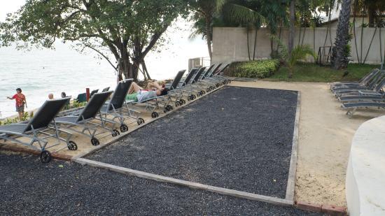 ibis Samui Bophut: Площадка для игры в боччу